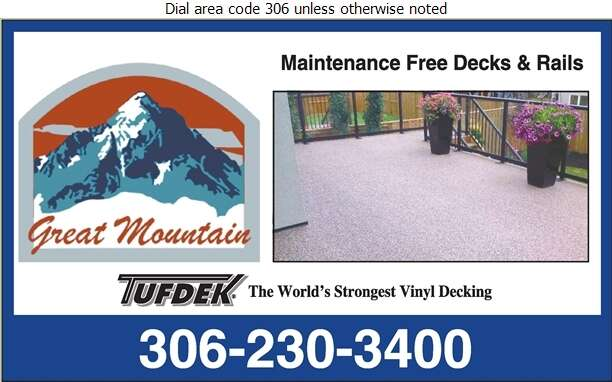 Great Mountain Glass & Rails - Decks Construction & Maintenance Digital Ad