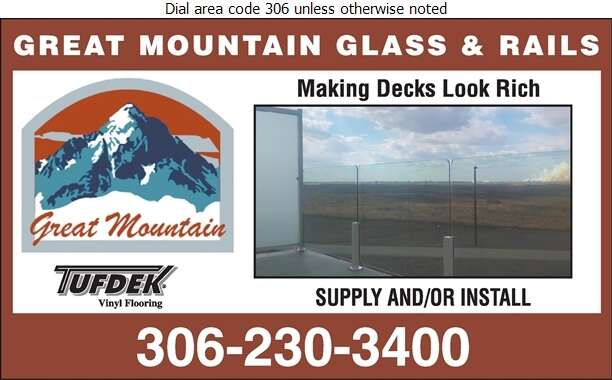 Great Mountain Glass & Rails - Railings Digital Ad