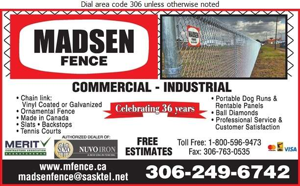 Madsen Fence Ltd - Fences Digital Ad