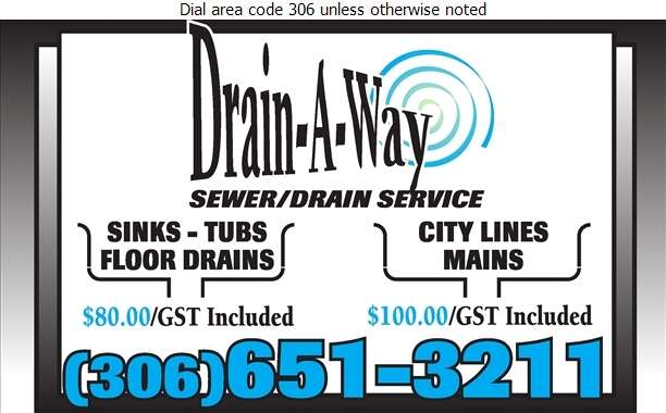 Drain-A-Way - Sewer Contractors Digital Ad