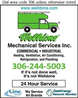Welldone Mechanical Services (Joanne Harpauer-Dignean) - Boiler Repairing Digital Ad