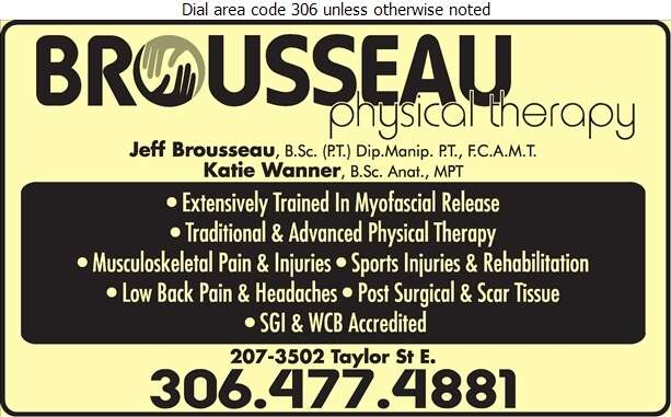 Brousseau Physical Therapy - Physical Therapy Digital Ad