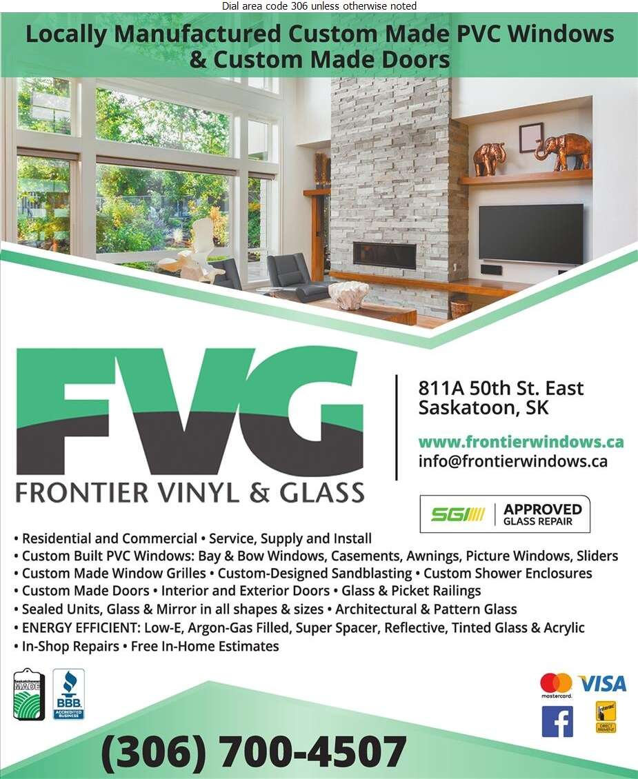Frontier Vinyl & Glass - Windows Digital Ad