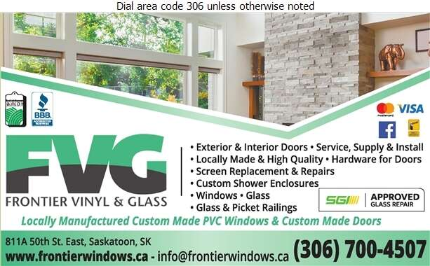 Frontier Vinyl & Glass - Doors Household Sales & Service Digital Ad