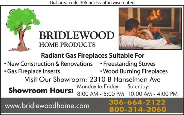 Bridlewood Home Products - Fireplaces Digital Ad