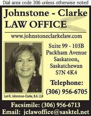 Johnstone-Clarke Law Office - Lawyers Digital Ad