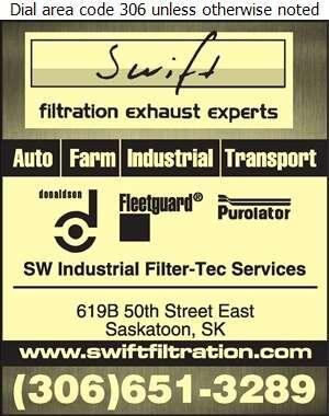 Swift Filtration - Filters Oil Digital Ad