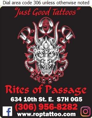 Rites Of Passage Tattoo - Tattooing Digital Ad