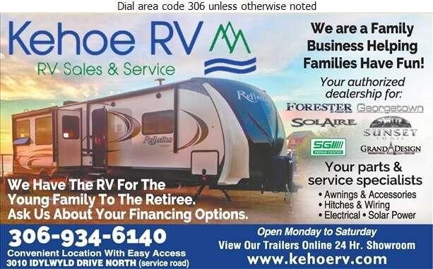 Kehoe RV Ltd - Recreation Vehicles Digital Ad
