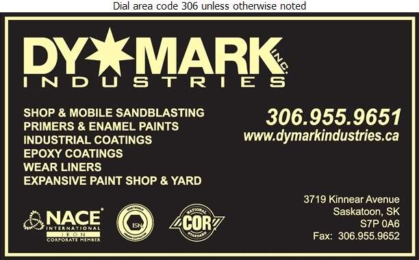 DyMark Industries - Sandblasting Digital Ad