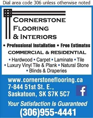 Cornerstone Flooring & Interiors - Floor Covering Digital Ad
