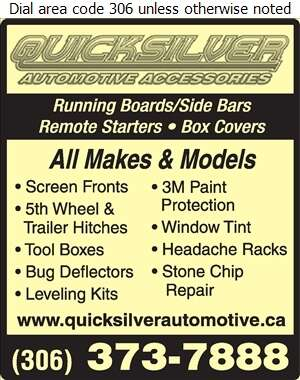 Quicksilver Auto Accessories - Truck Accessories Digital Ad