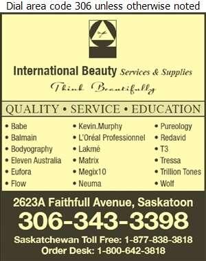 International Beauty Services & Supplies - Beauty Salon Equipment & Supplies Digital Ad