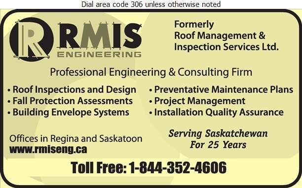 RMIS Engineering - Roofing Consultants Digital Ad