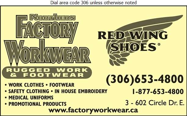 Northern Factory Workwear - Safety Equipment & Clothing Digital Ad