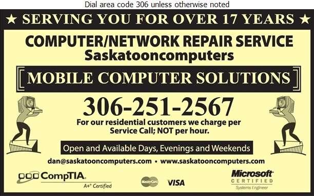 Mobile Computer Solutions - Computers - Repairs & Maintenance Digital Ad