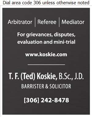 Koskie Law - Arbitration Services Digital Ad