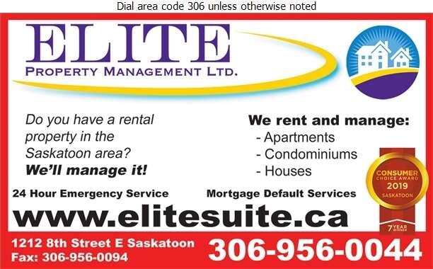 Elite Property Management Ltd - Property Management Digital Ad