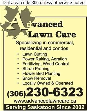 Advanced Lawncare - Lawn Maintenance Digital Ad