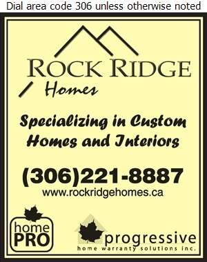 Rock Ridge Homes Inc - Builders & Contractors Digital Ad