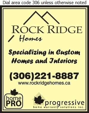 Rock Ridge Homes Inc - Builders & Contractors Digital Ad