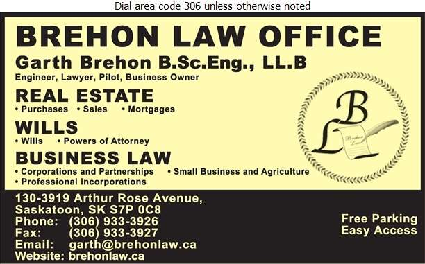 Brehon Law Office - Lawyers Digital Ad