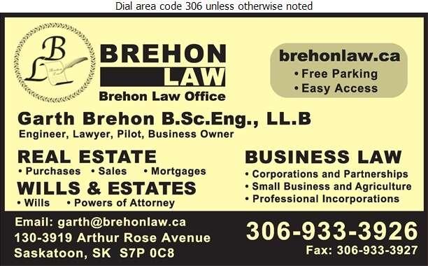 Brehon Law Office - Lawyers Digital Ad