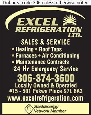 Excel Refrigeration Ltd - Heating Contractors Digital Ad