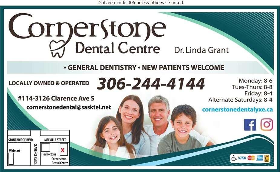 Cornerstone Dental Centre - Dentists Digital Ad