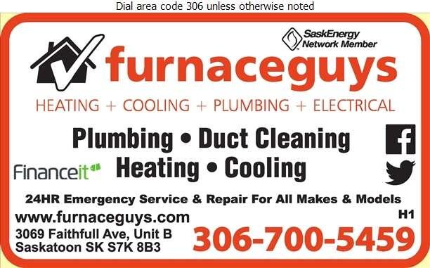 furnaceguys Home Heating & Cooling Inc - Furnaces Heating Digital Ad