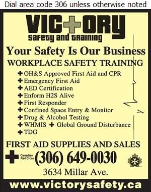 Victory Safety and Training - First Aid Services Digital Ad