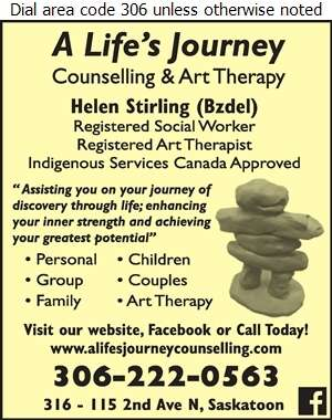 A Life's Journey Counselling & Art Therapy - Counselling Digital Ad