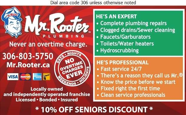 Mr Rooter - Plumbing Contractors Digital Ad