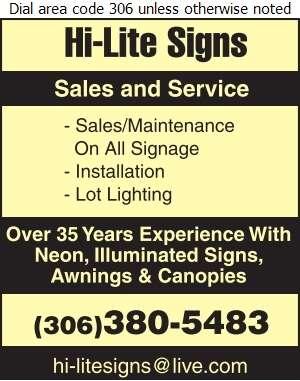 Hi-Lite Sign Service - Signs Maintenance & Repairing Digital Ad