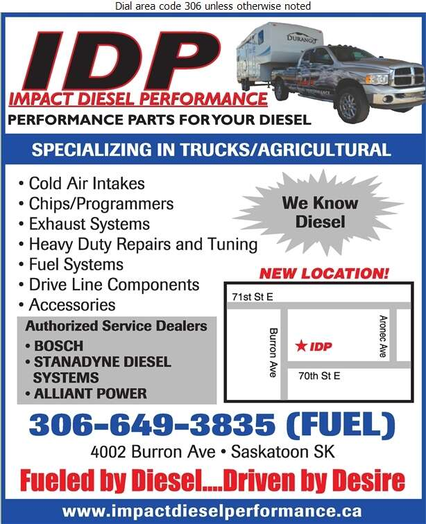 Impact Diesel Performance - Engines Diesel Parts & Service Digital Ad