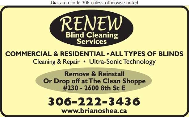 Renew Blind Cleaning Services - Blinds Cleaning Digital Ad