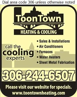 Toontown Heating & Cooling (Shop) - Air Conditioning Contractors Digital Ad