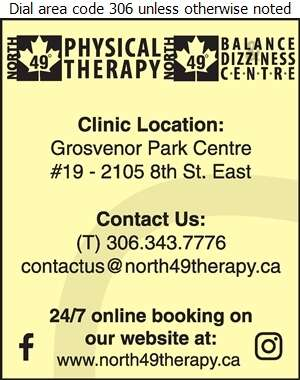 North 49 Physical Therapy - Physical Therapy Digital Ad