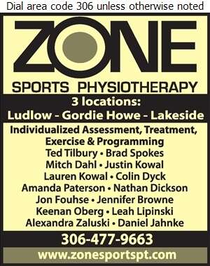 ZONE Sports Physiotherapy - Physical Therapy Digital Ad