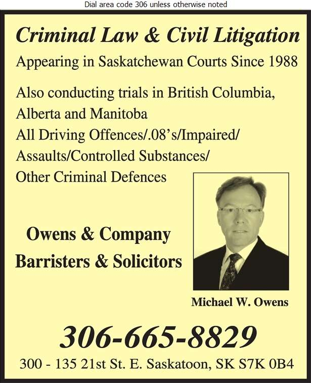 Owens & Company - Lawyers Digital Ad