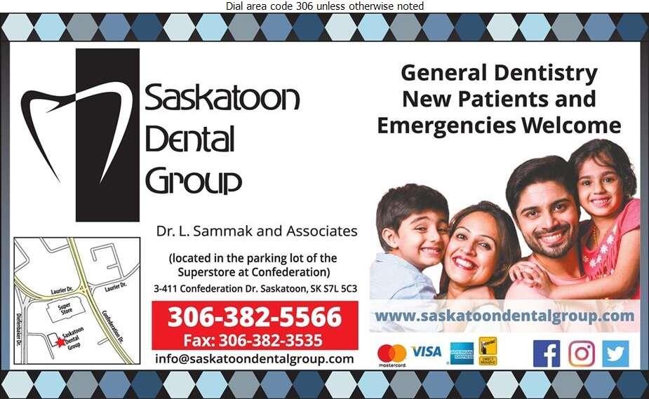Saskatoon Dental Group - Dentists Digital Ad