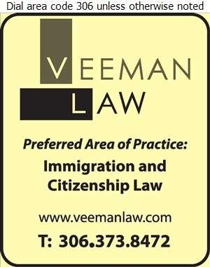Veeman Law - Lawyers Digital Ad