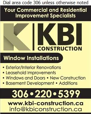 KBI Construction Inc - Windows Digital Ad