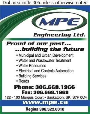 MPE Engineering Ltd - Engineers Consulting Digital Ad