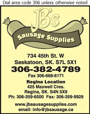 JB's Sausage Maker Supplies - Butchers' Equipment & Supplies Digital Ad