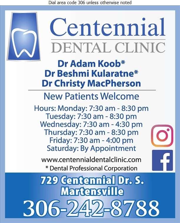 Centennial Dental Clinic - Dentists Digital Ad