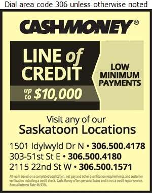 Cash Money (Fax) - Loans Digital Ad