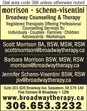 Broadway Counselling & Therapy - Counselling Digital Ad