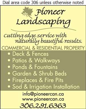 Pioneer Landscaping - Landscape Contractors & Designers Digital Ad