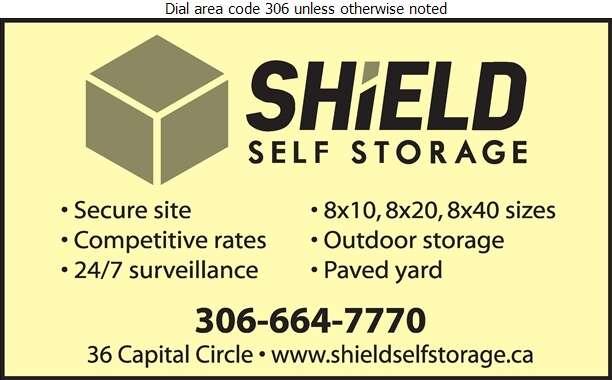 Shield Self Storage - Storage- Household & Commercial Digital Ad